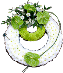 Funeral Flower Display